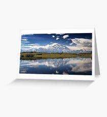 Mount Denali. Greeting Card