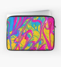 Colorful Abstract Oil Painting Laptop Sleeve