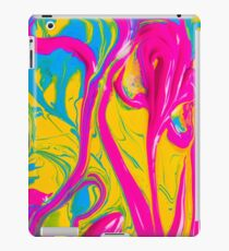 Colorful Abstract Oil Painting iPad Case/Skin