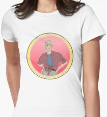 Woman Inherits The Earth Women's Fitted T-Shirt