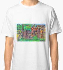 GREEN & RED SCENE Classic T-Shirt