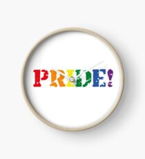 Just be proud and show it! Clock