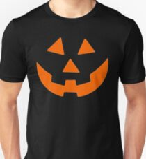 Jack O Lantern Pumpkin Halloween Costume Shirt for Men Women Unisex T-Shirt
