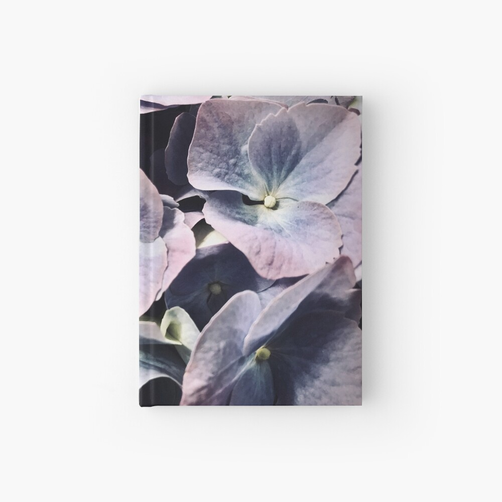 Purple Hydrangea Hardcover Journal