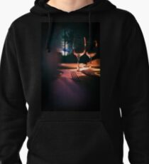 Wedding reception banquet party table  Pullover Hoodie