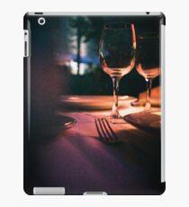 Wedding reception banquet party table  iPad Case/Skin