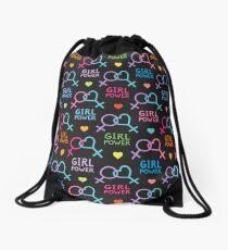 Girl Power Drawstring Bag