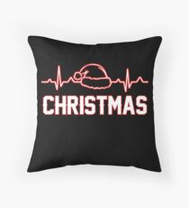 CHRISTMAS HAT Throw Pillow