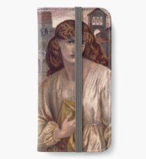 Salutation of Beatrice -  Dante Gabriel Rossetti iPhone Wallet/Case/Skin
