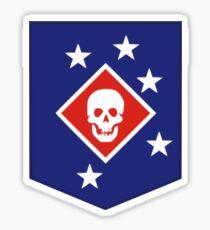 Marine Raiders Patch - WWII Sticker