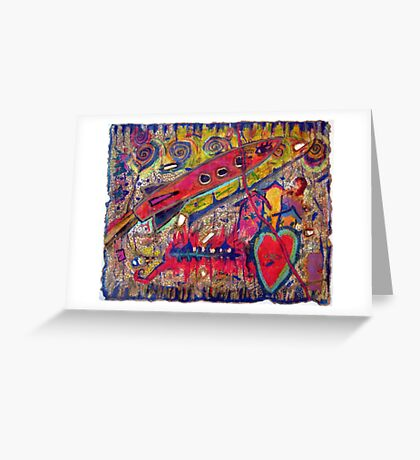 I Just Know That Something Good is Going To Happen! Greeting Card
