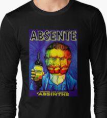 Absente (Absinthe) Van Gogh Parody Vintage Poster, tshirts, tees, jersey, posters, tshirts, Prints, Print Long Sleeve T-Shirt