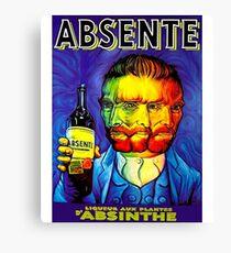 Absente (Absinthe) Van Gogh Parody Vintage Poster, tshirts, tees, jersey, posters, tshirts, Prints, Print Canvas Print