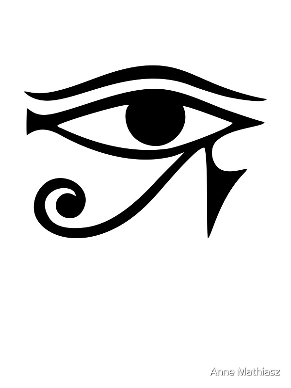 Eye Of Horus Ra Ancient Egyptian Symbol Of Protection Stickers