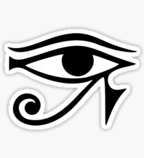 EYE of Horus / Ra - ancient Egyptian symbol of protection Sticker