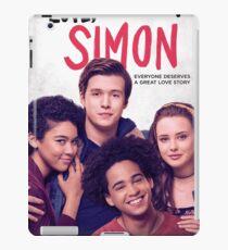 Love, simon (3) iPad Case/Skin