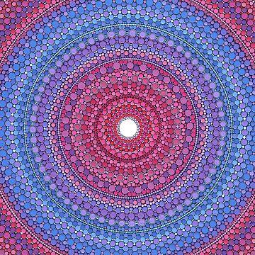 Keep a Loving Heart Mandala by ElspethMcLean