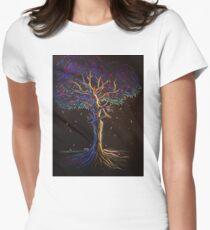 Tree Goddess Women's Fitted T-Shirt