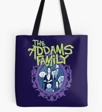 Addams Family The Musical Broadway TV Show Theater Play Tote Bag