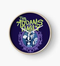 Addams Family The Musical Broadway TV Show Theater Play Clock