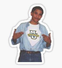 Marquette University Obama Supreme Tshirt  Sticker