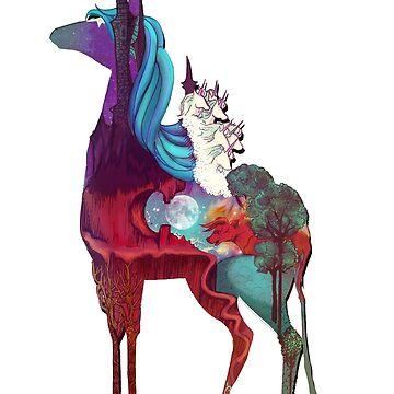 The Last Unicorn by nellmeowmeow