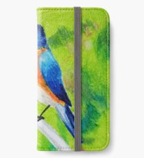 Blue Bird iPhone Wallet/Case/Skin