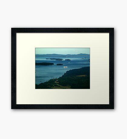 A Sea of Islands Framed Print