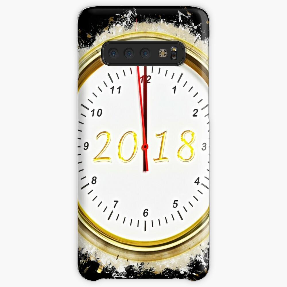 Emotions new year's day glowing Art Case & Skin for Samsung Galaxy