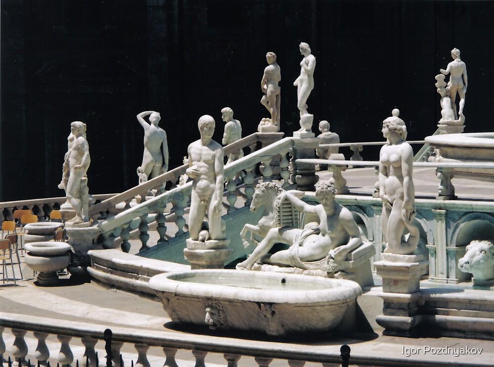 Quot Palermo Pretoria Fountain Sicily Italy Quot By Igor