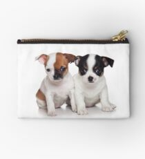 Two puppies chihuahua Studio Pouch