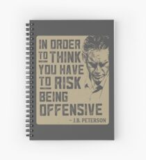 Jordan Peterson Quote Spiral Notebook