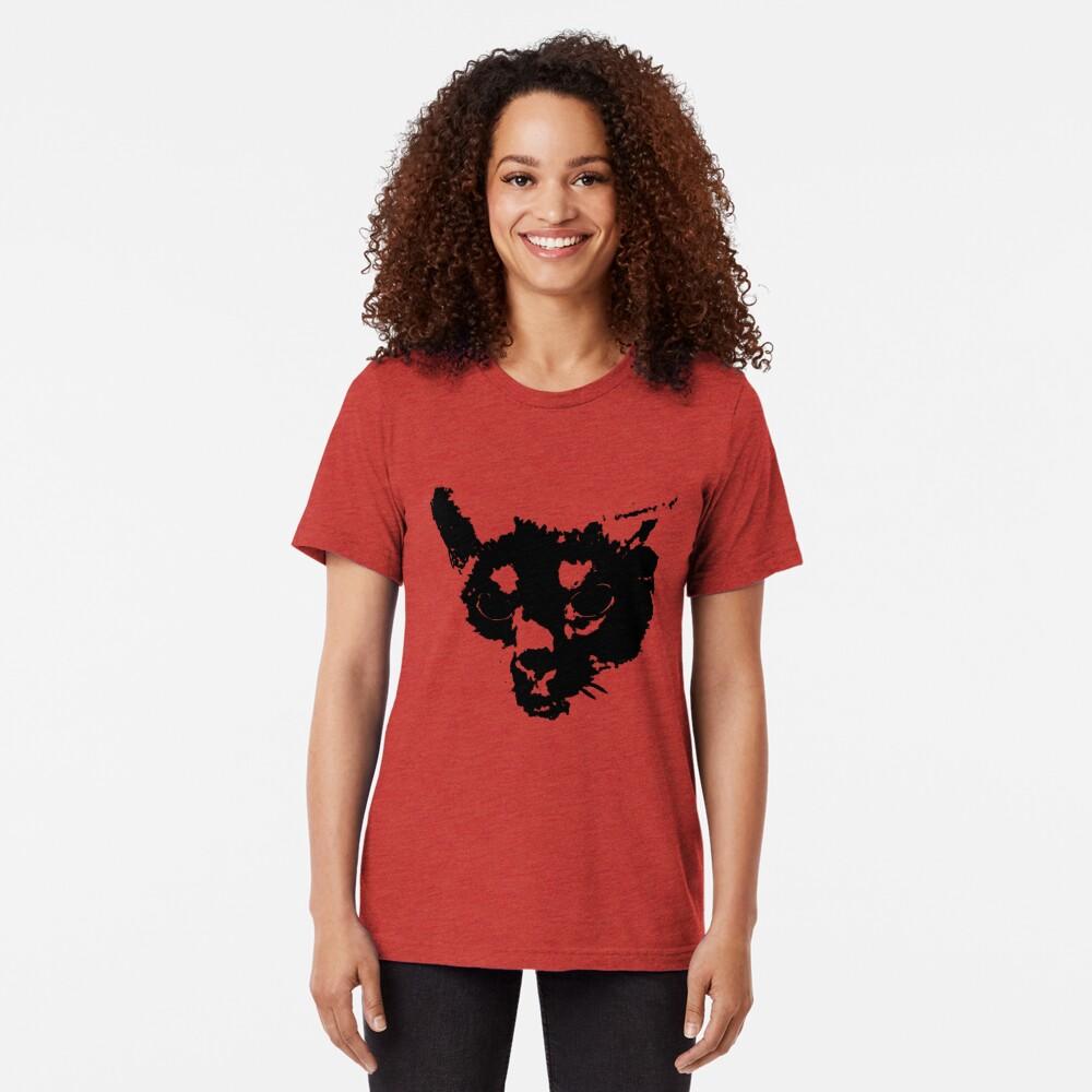MInki's Angry Tri-blend T-Shirt
