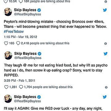 Skip Bayless tweets by TobySmith