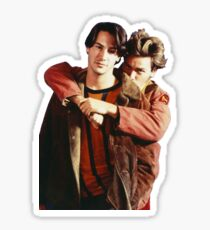 My Own Private River Reeves Sticker