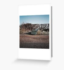 Lay Waste Greeting Card