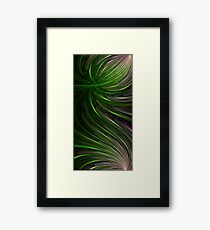 Glass Bloom (178 Views) Framed Print