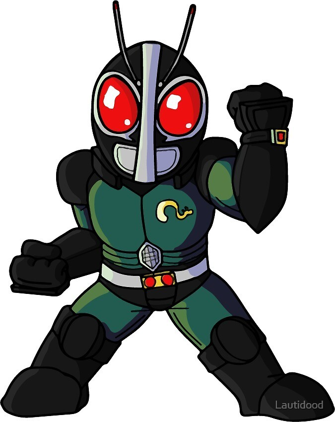 Kamen Rider Black RX Chibi