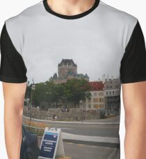 #Quebec, #Canada, Quebec #City, #Streets, #Buildings, #Places, #QuebecCity Graphic T-Shirt