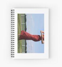 Sound of Music Vertical Spiral Notebook