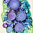 Berry Lime Mandala by Melanie Froud