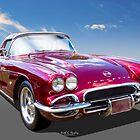 62 Corvette by Keith Hawley