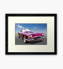 62 Corvette Framed Print