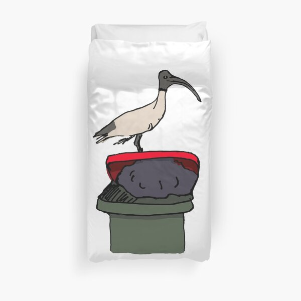 Bin Chicken Duvet Cover