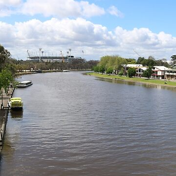 View  of the Yarra by kalaryder