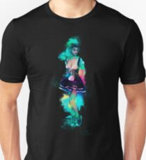 Woman attractive colorful Unisex T-Shirt