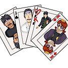 One Poker Kaiji Cards  by PixieBlossom12