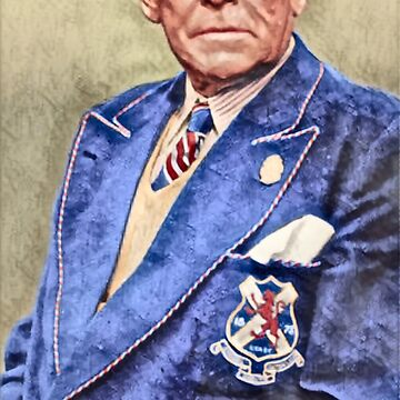 Bill Struth Digital Painting by AndythephotoDr
