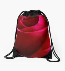 Red Rose Drawstring Bag