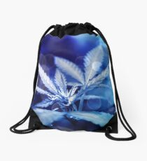 Bubbles and Buds Drawstring Bag